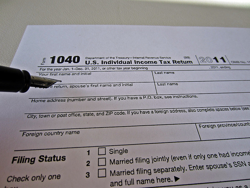 IRS Prior Income Tax Tables