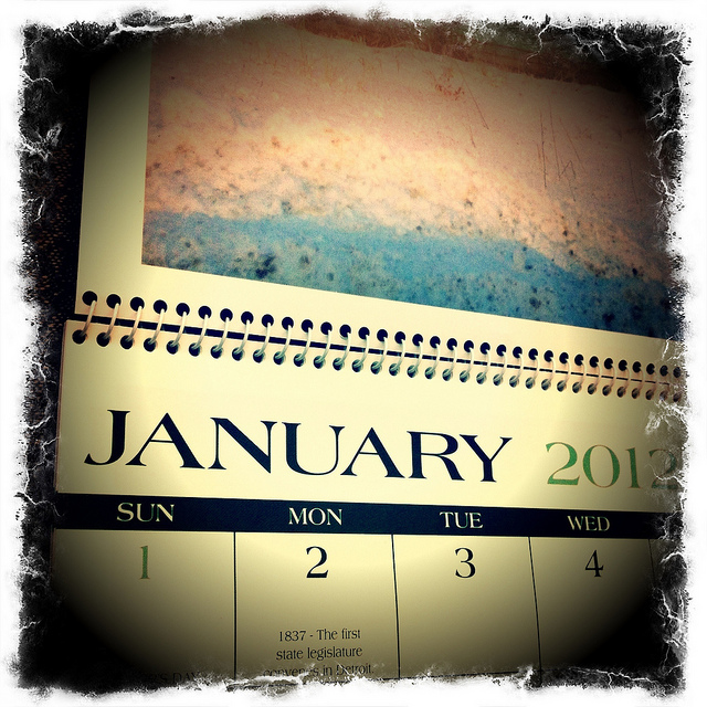 2012 IRS Calendar & Deadlines